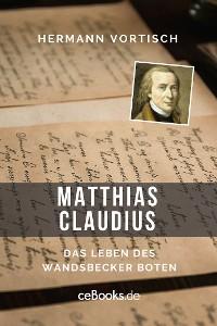 Cover Matthias Claudius