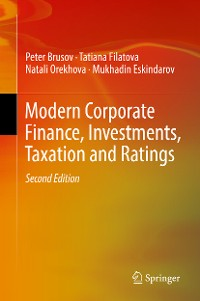 Cover Modern Corporate Finance, Investments, Taxation and Ratings