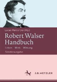 Cover Robert Walser-Handbuch
