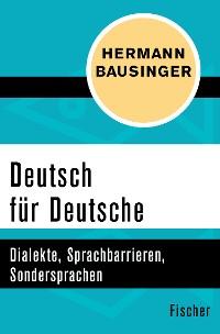 Cover Deutsch für Deutsche