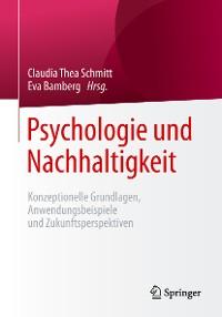 Cover Psychologie und Nachhaltigkeit