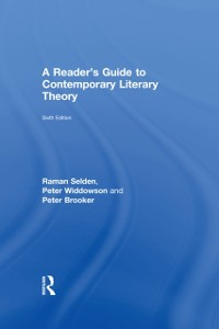 Cover Reader's Guide to Contemporary Literary Theory