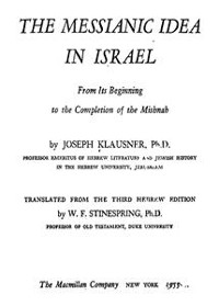 Cover The Messianic Idea in Israel