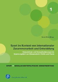 Cover Sport im Kontext von internationaler Zusammenarbeit und Entwicklung