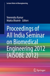 Cover Proceedings of All India Seminar on Biomedical Engineering 2012 (AISOBE 2012)