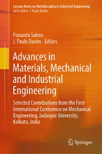 Cover Advances in Materials, Mechanical and Industrial Engineering
