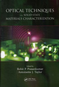 Cover Optical Techniques for Solid-State Materials Characterization