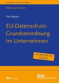 Cover EU-Datenschutz-Grundverordnung im Unternehmen