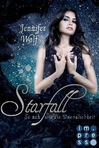 Cover Starfall. So nah wie die Unendlichkeit