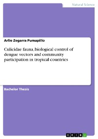 Cover Culicidae fauna, biological control of dengue vectors and community participation in tropical countries