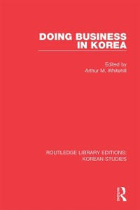 Cover Doing Business in Korea