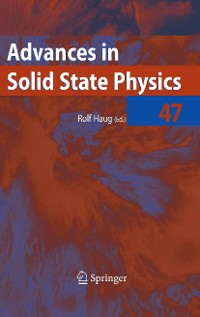 Cover Advances in Solid State Physics 47