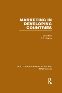 Cover Marketing in Developing Countries (RLE Marketing)