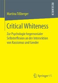Cover Critical Whiteness