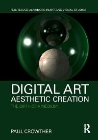 Cover Digital Art, Aesthetic Creation