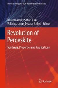 Cover Revolution of Perovskite