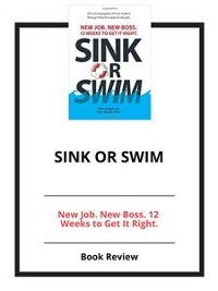Cover Sink or Swim