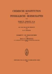 Cover Chemische Konstitution und Physikalische Eigenschaften