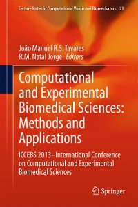 Cover Computational and Experimental Biomedical Sciences: Methods and Applications