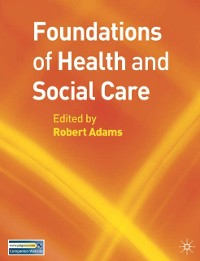Cover Foundations of Health and Social Care