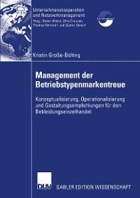 Cover Management der Betriebstypenmarkentreue