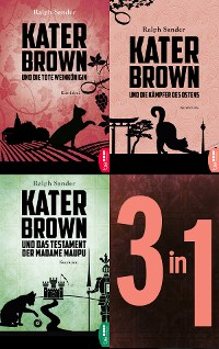 Cover Die Kater-Brown-Krimis