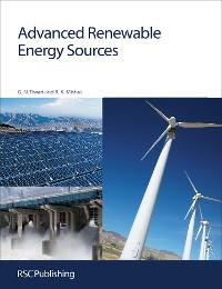 Cover Advanced Renewable Energy Sources