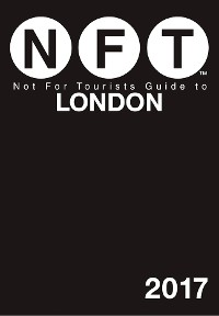 Cover Not For Tourists Guide to London 2017