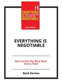 Cover Everything Is Negotiable
