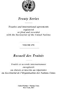 Cover Treaty Series 2791/Recueil des Traités 2791