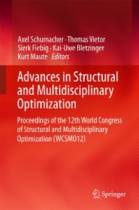 Cover Advances in Structural and Multidisciplinary Optimization