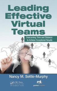 Cover Leading Effective Virtual Teams