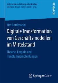 Cover Digitale Transformation von Geschäftsmodellen im Mittelstand