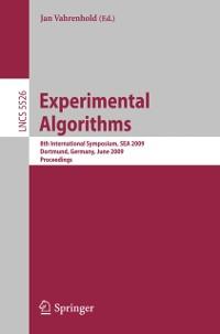 Cover Experimental Algorithms