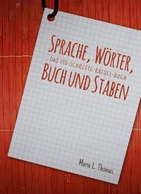Cover Sprache, Wörter, Buch und Staben