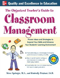 Cover Organized Teacher's Guide to Classroom Management