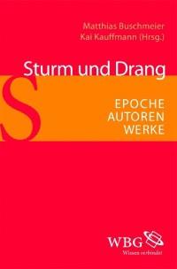Cover Sturm und Drang