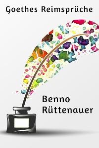 Cover Goethes Reimsprüche