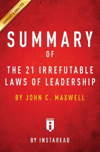 Cover Summary of The 21 Irrefutable Laws of Leadership