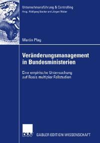 Cover Veränderungsmanagement in Bundesministerien