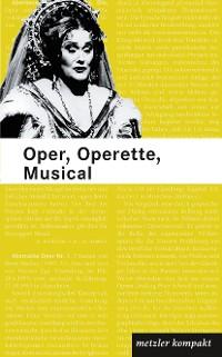 Cover Oper, Operette, Musical