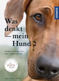 Cover Was denkt mein Hund?