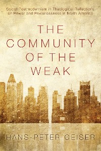 Cover The Community of the Weak