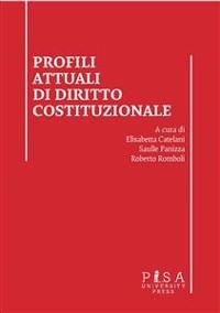 Cover Profili attuali di diritto costituzionale