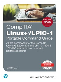 Cover CompTIA Linux+/LPIC-1 Portable Command Guide