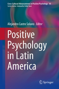 Cover Positive Psychology in Latin America