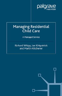 Cover Managing Residential Childcare