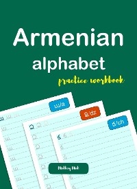 Cover Armenian Alphabet Handwriting