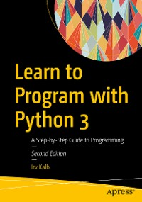 Cover Learn to Program with Python 3