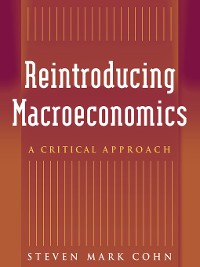 Cover Reintroducing Macroeconomics